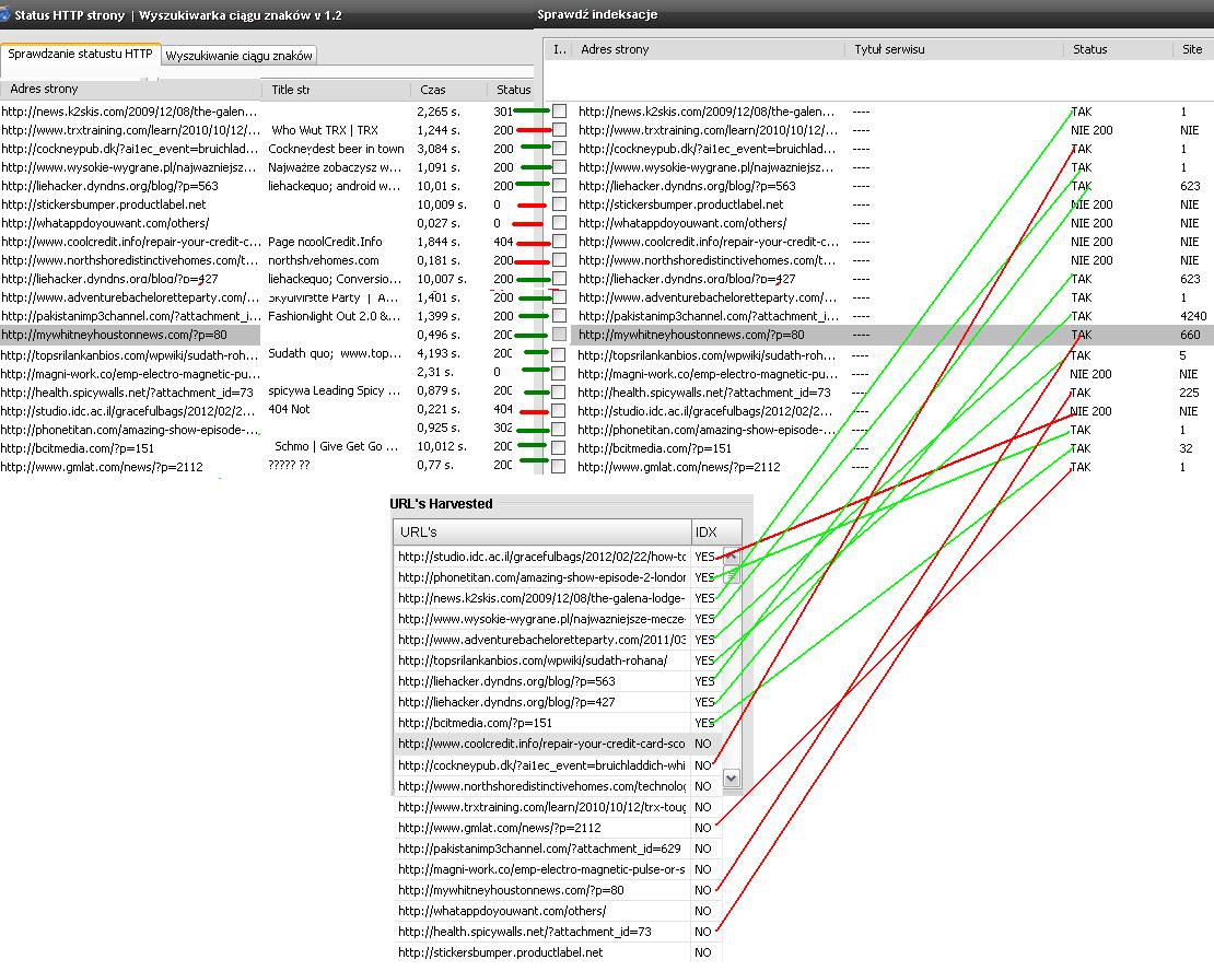 PSM rozpisane linki