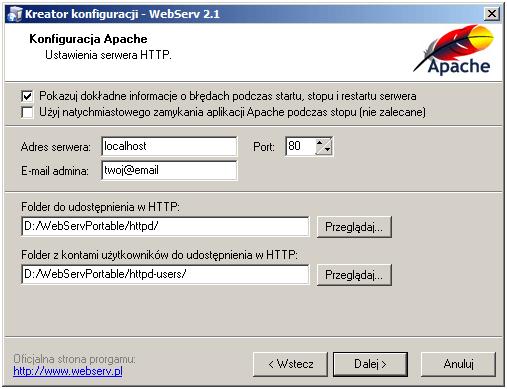 webserv-konfiguracja-apache