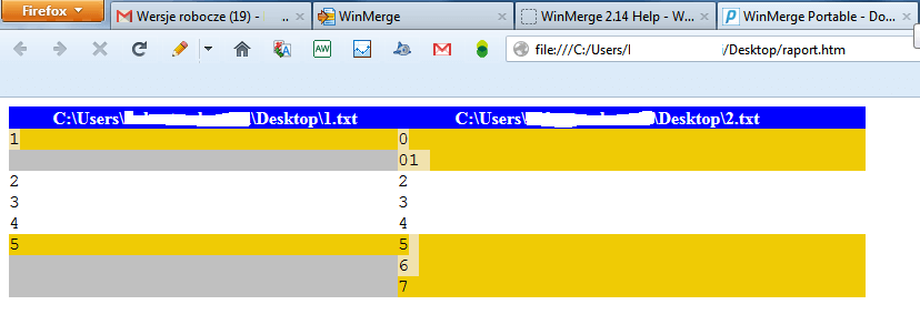 winmerge-raport